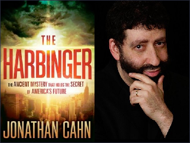 """The book """"The Harbinger"""" by Jonathan Cahn centers on the eerie exactitudes"""